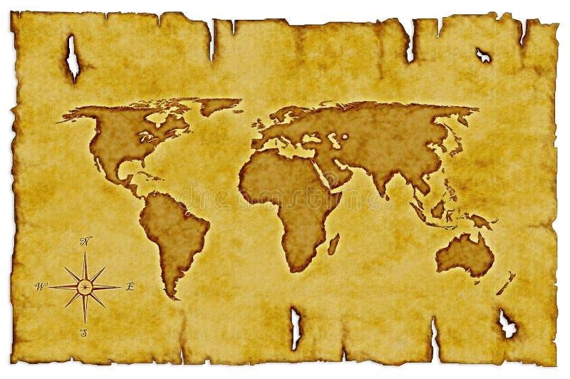 映射旧世界 皇族释放例证