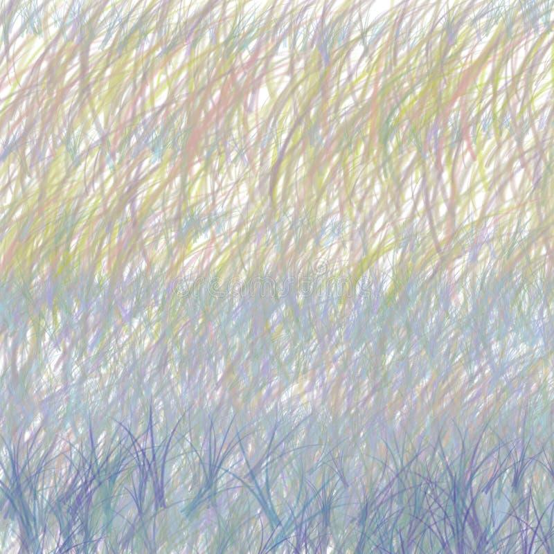 春天淡色背景 抽象自然纹理 库存例证