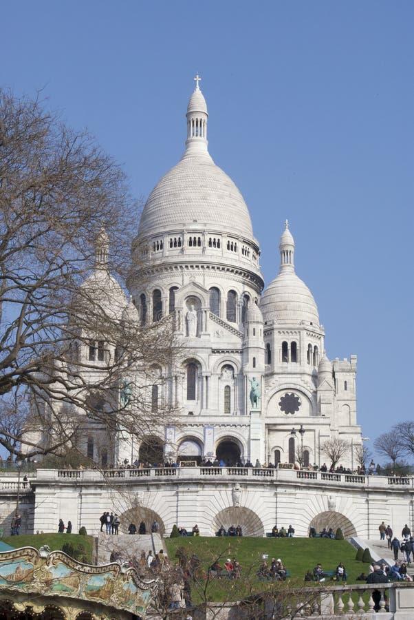 巴黎春天 库存照片