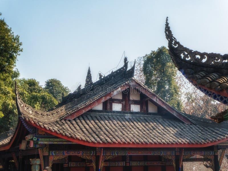 昭觉寺庙,成都,四川,中国 图库摄影