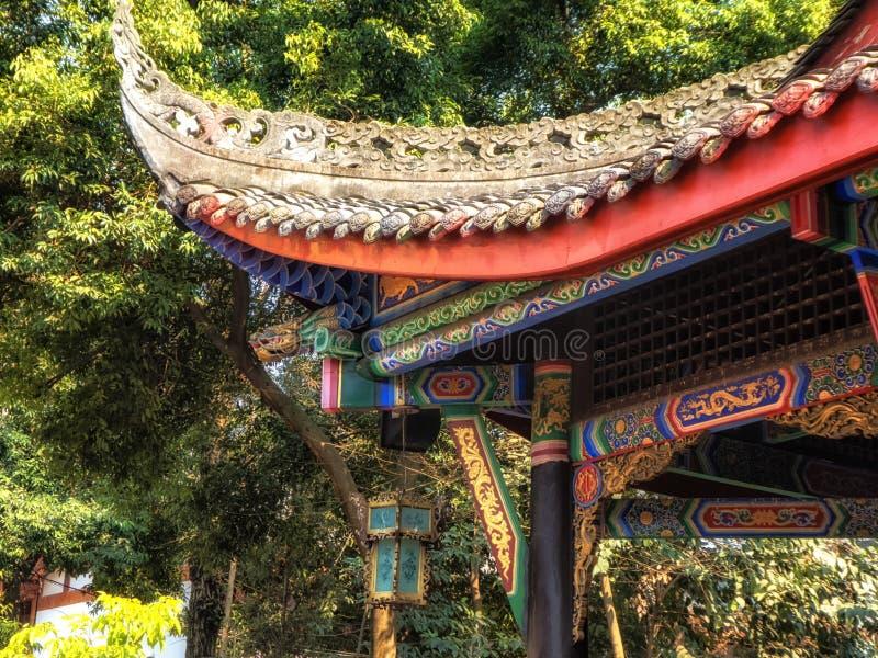 昭觉寺庙,成都,四川,中国 库存图片