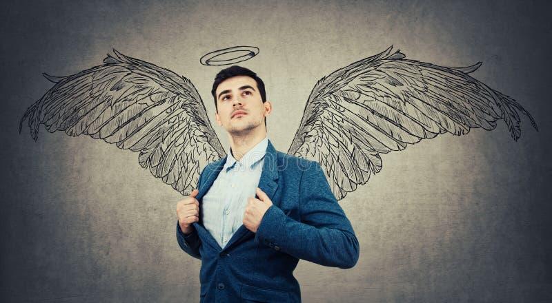 是天使 免版税库存照片