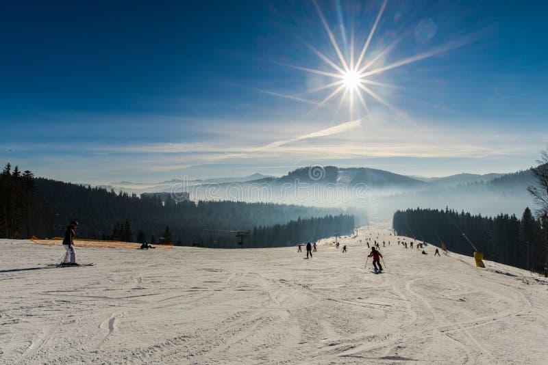 是完全地愉快的听到i,如果图象山感谢使用冬天会您的地方 库存图片