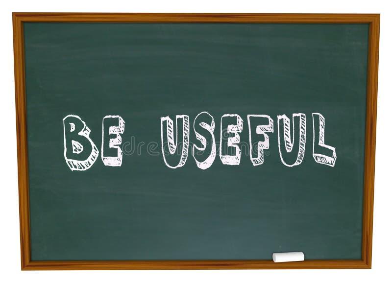 是有用的黑板词解决问题集会需要需求Helpfu 向量例证
