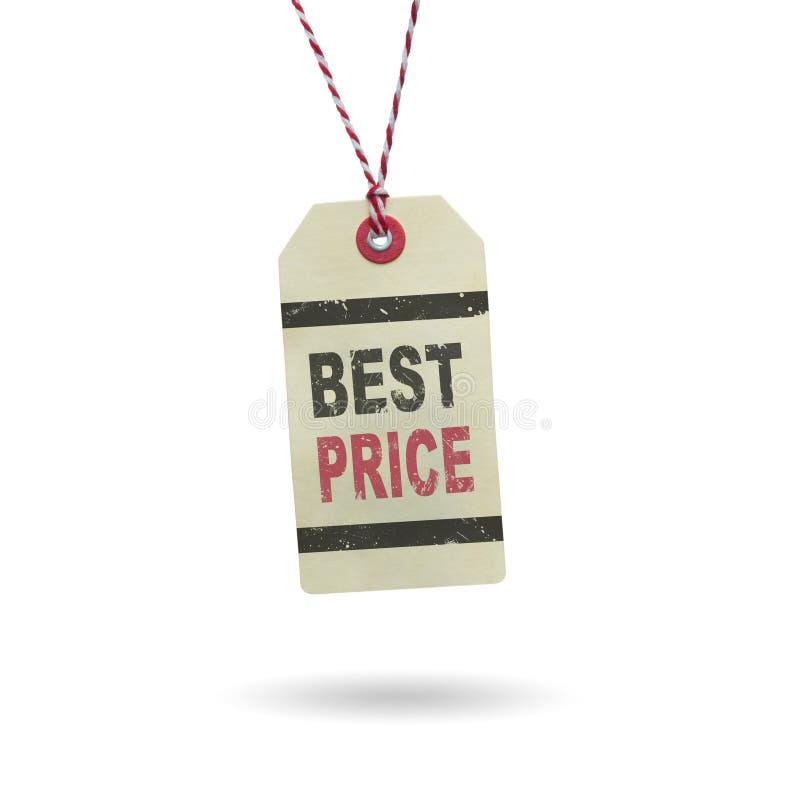 是用说明标签最佳的价格 库存图片