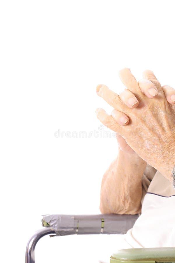 是的事故被剪切的手指有  免版税库存图片