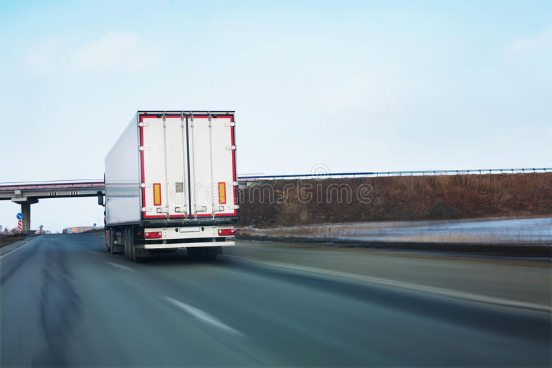 是路卡车 免版税图库摄影