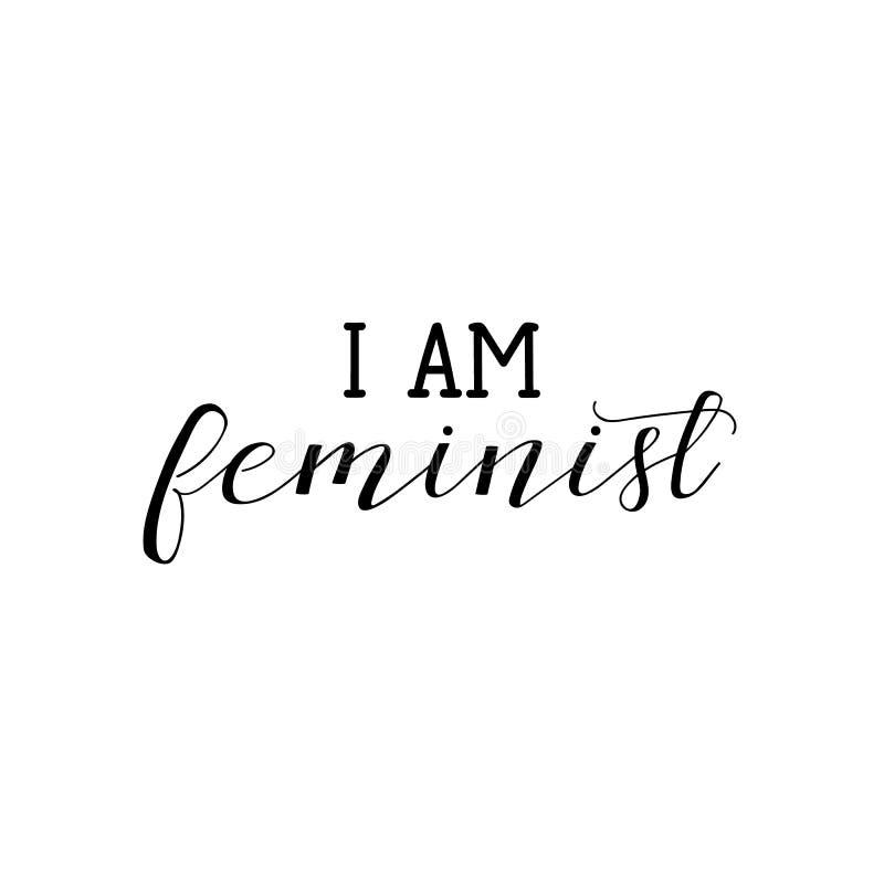 是,我是女权女权主义行情,妇女诱导口号 字法 10个背景设计eps技术向量 皇族释放例证