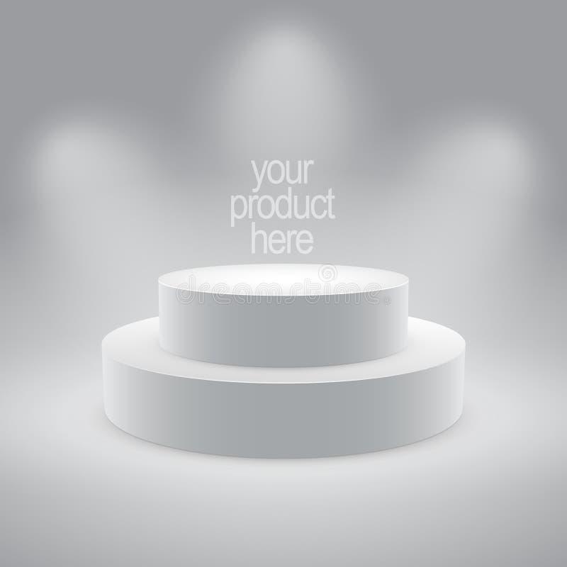 显示产品传染媒介 免版税图库摄影