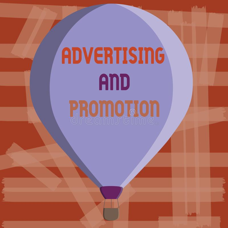 显示广告和促进的文字笔记 陈列受控制和被支付的销售的活动的企业照片  皇族释放例证
