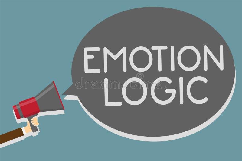 显示情感逻辑的文字笔记 企业照片陈列的心脏或脑子灵魂或者智力混乱均等平衡人举行 向量例证
