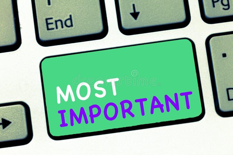 显示最重要的文字笔记 陈列最了不起或高度数量或类似物的企业照片重大 库存图片