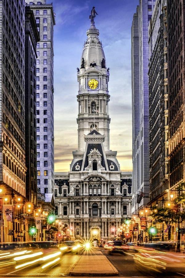 显示的市政厅 库存图片