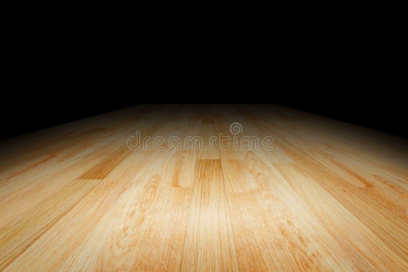 显示的板条木地板纹理背景您的产品 图库摄影