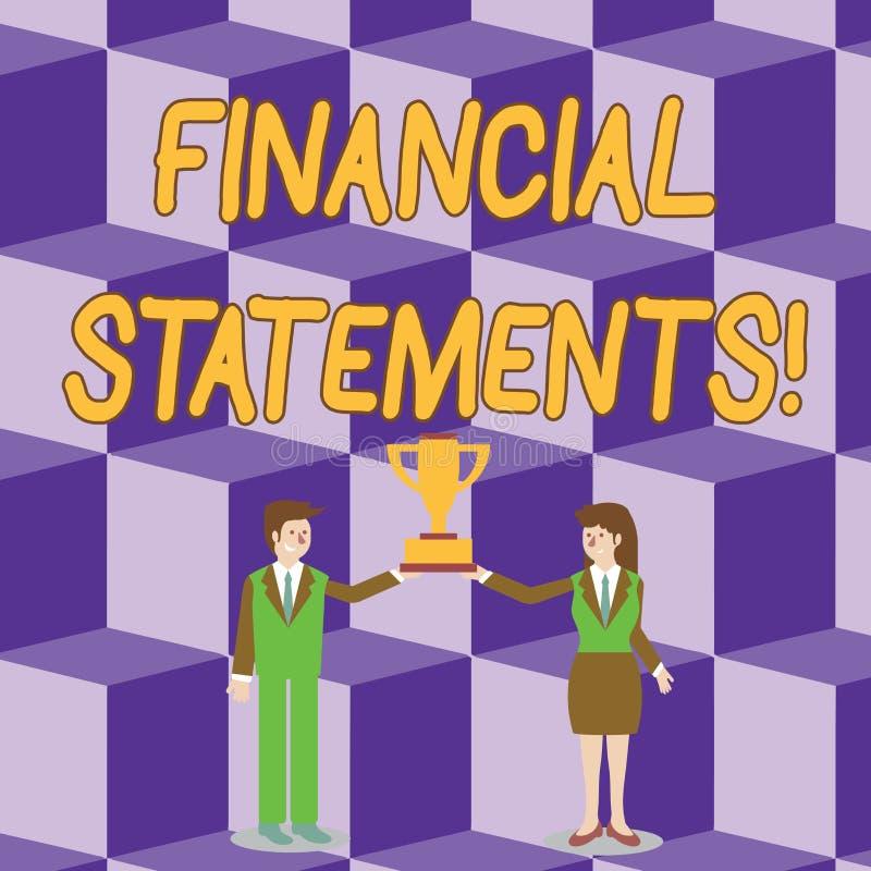 显示财政技术的概念性手文字 陈列企业的照片提供金融服务通过做 向量例证