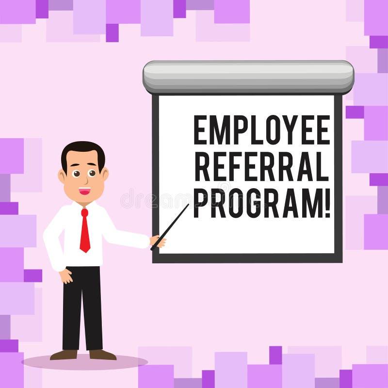 显示雇员推举节目的文字笔记 企业照片陈列推荐正确的求职者份额空缺工作 皇族释放例证