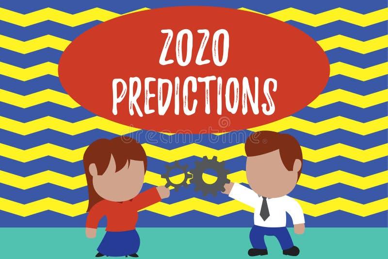 显示2020个预言的概念性手文字 企业照片文本明细表您感觉那去发生 皇族释放例证