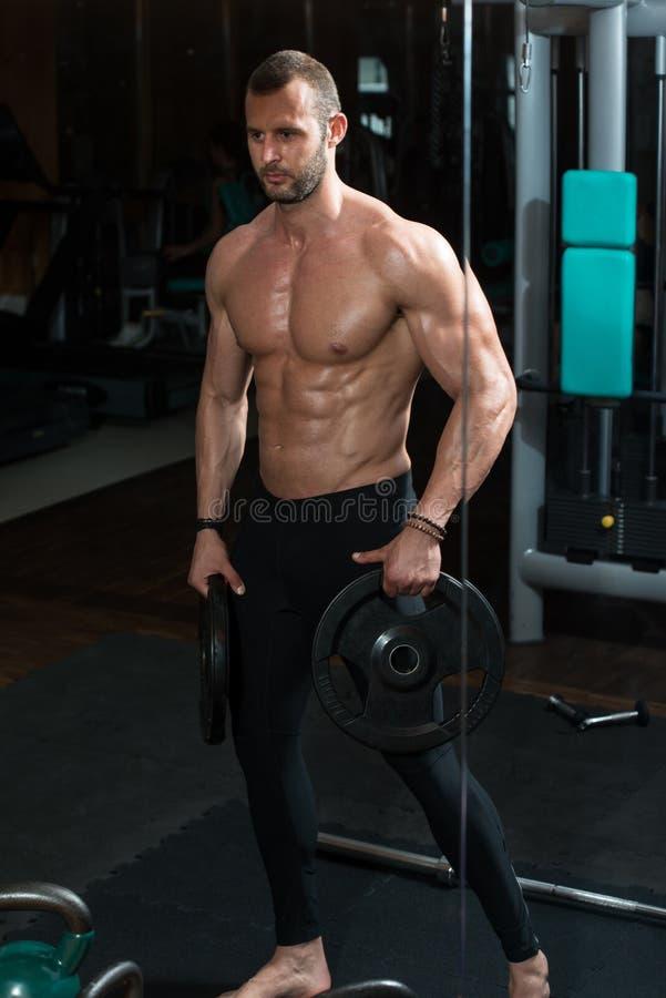 Download 显示他训练有素的身体的健身房的人 库存照片. 图片 包括有 白种人, 确信, 编译, 成人, 健身, 有吸引力的 - 62534930