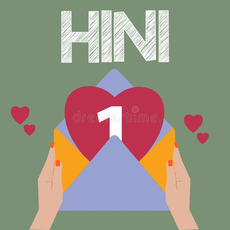 显示H1N1的概念性手文字 多数共同性由流行性感冒导致的企业照片文本猪流感呼吸道疾病 皇族释放例证
