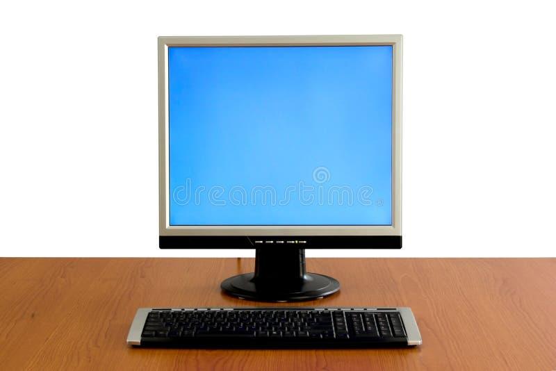 显示lcd监控程序 免版税库存图片
