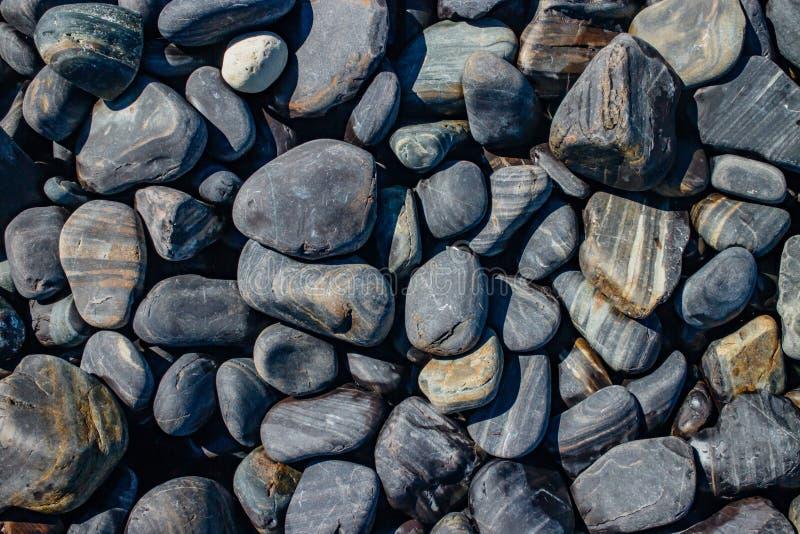 晃动石背景, Lipe海岛,酸值Lipe,泰国的沙敦府 免版税库存照片