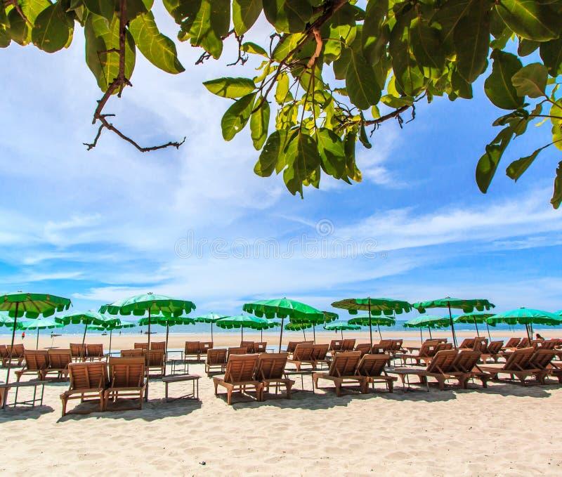 晒日光浴在海滩 免版税库存照片