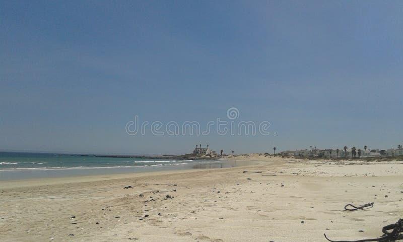 晒日光浴海滩组人松弛的场面 免版税库存照片