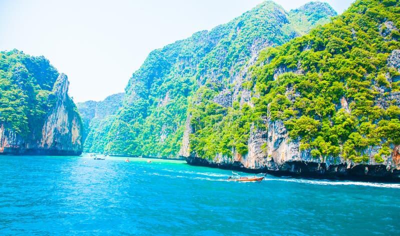 普吉岛海泰国 免版税库存照片