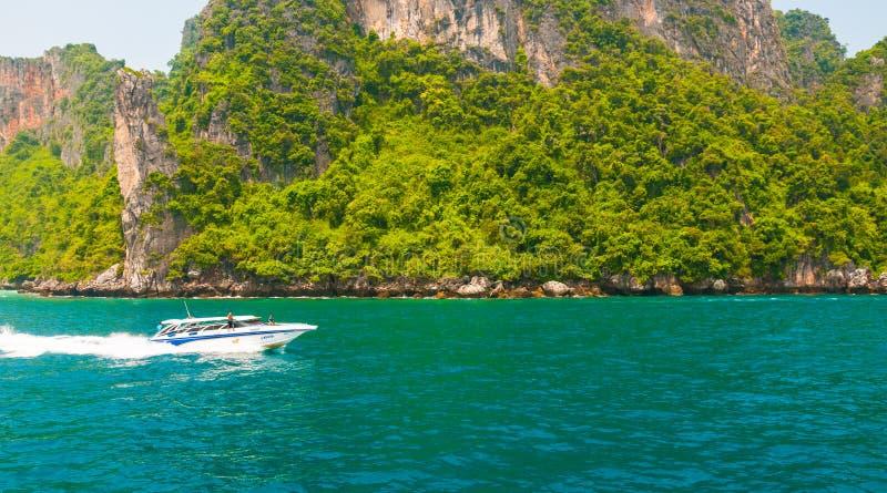 普吉岛海滩海岛 库存图片
