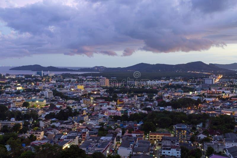 普吉岛镇泰国 免版税库存图片