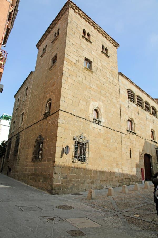 普拉森西亚,卡塞里斯省,埃斯特雷马杜拉,西班牙 免版税库存图片