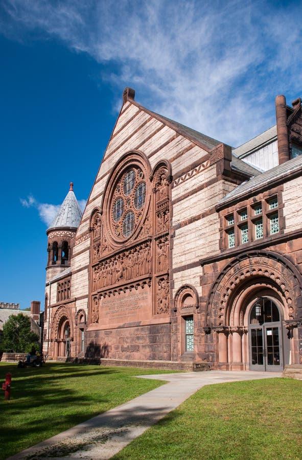普林斯顿大学的亚历山大霍尔在普林斯顿,新泽西 美国 库存照片