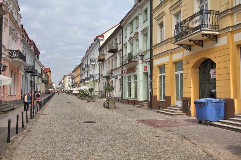 普沃茨克,波兰 免版税图库摄影