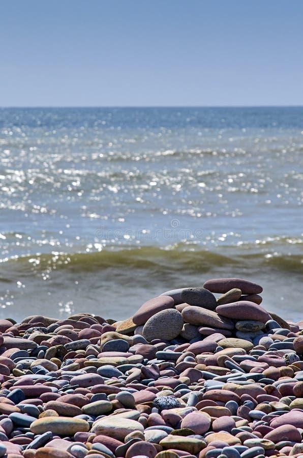 普索尔巴伦西亚海滩  库存照片
