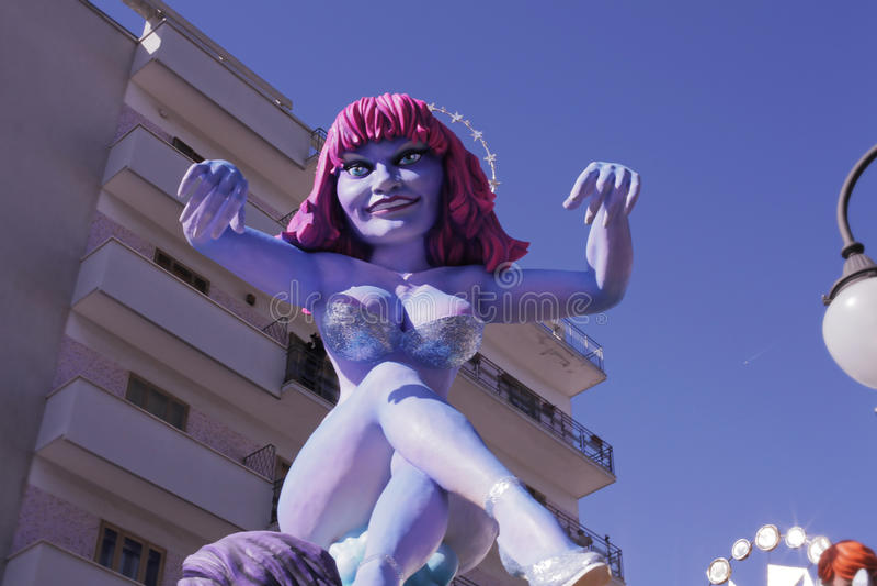 普蒂尼亚诺狂欢节2013 2 库存照片