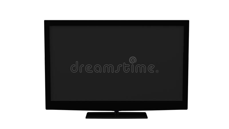 普通的电视LCD 库存照片