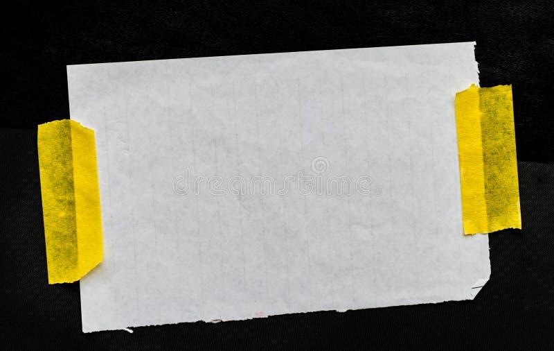 普通纸小块 库存照片