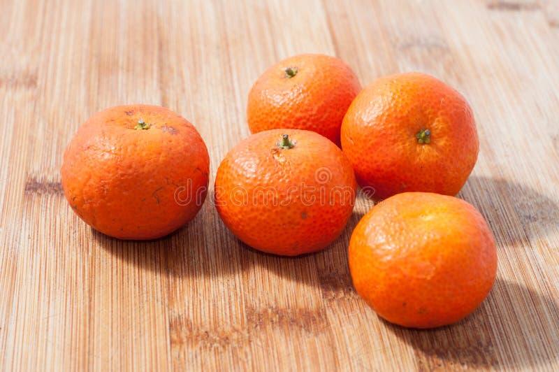普通话柑橘 免版税库存照片