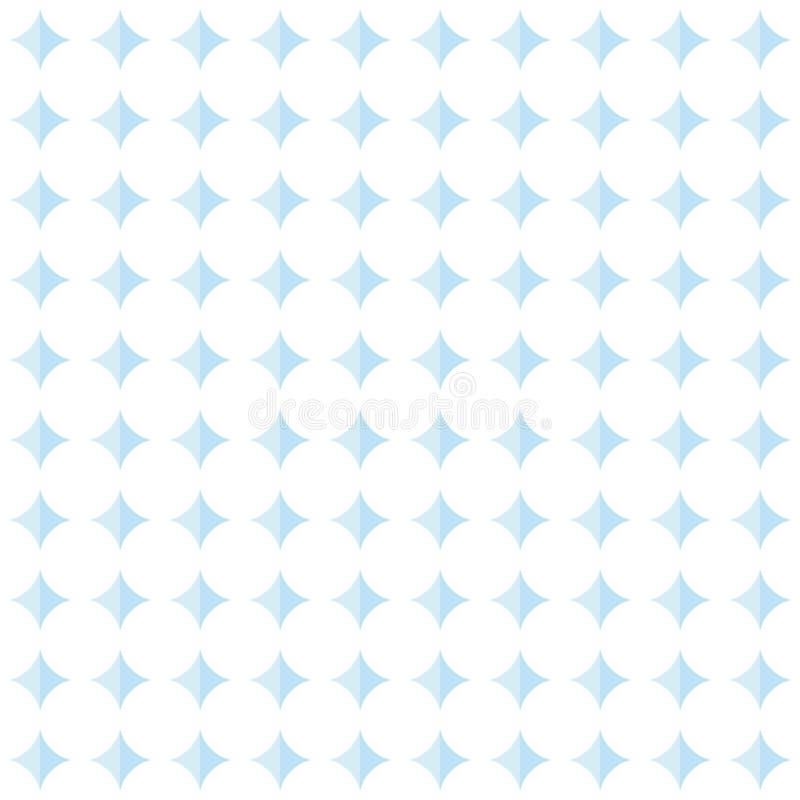 普遍的抽象浅兰的欧洲华美的卵形圈子堆 向量例证
