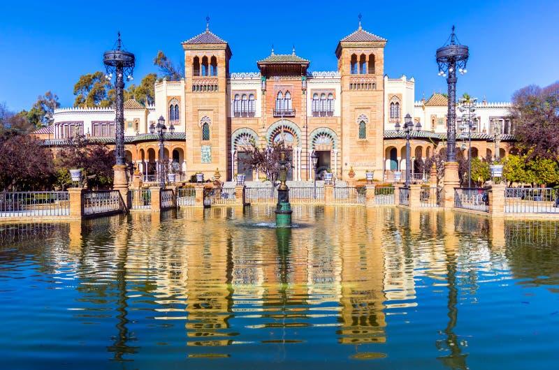 普遍的艺术和传统,塞维利亚,西班牙博物馆  库存图片
