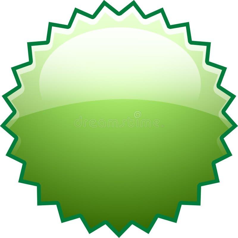 景气绿色新的飞溅 向量例证