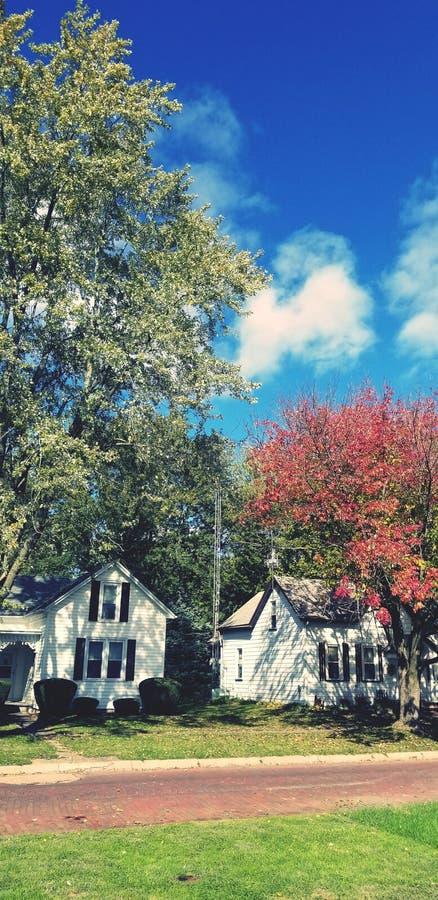 晴朗日的秋天 库存图片