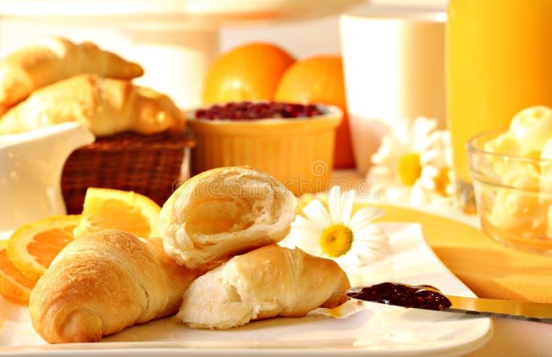 晴朗的早餐 库存照片