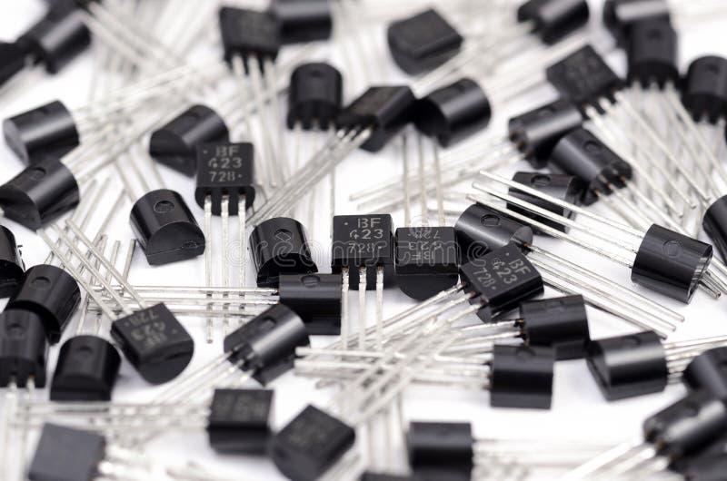 晶体管 免版税库存照片