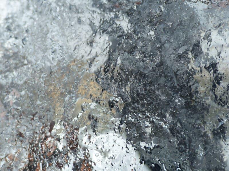 水晶冰墙壁 免版税图库摄影