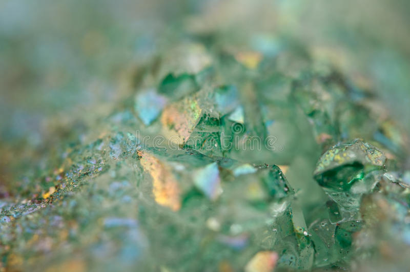 水晶玛瑙SiO2二氧化硅 宏指令 免版税库存照片