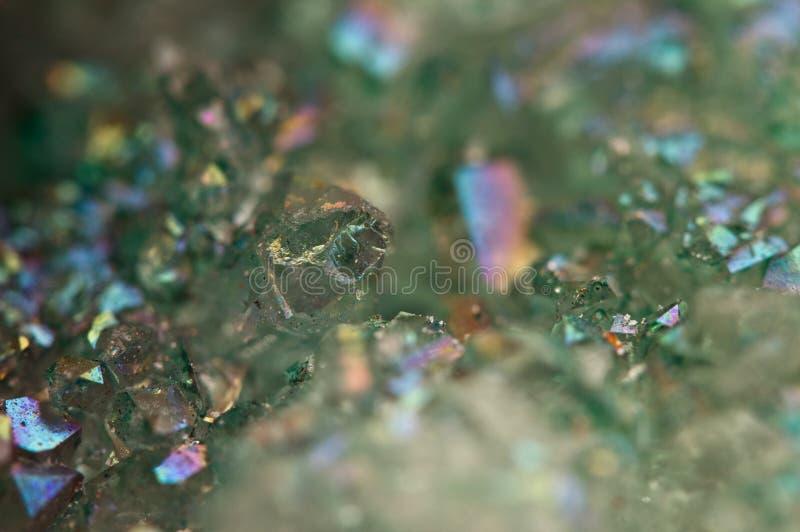 水晶玛瑙SiO2二氧化硅 宏指令 库存照片