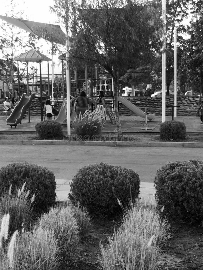 智利兰卡瓜卢尔德体育中心 图库摄影