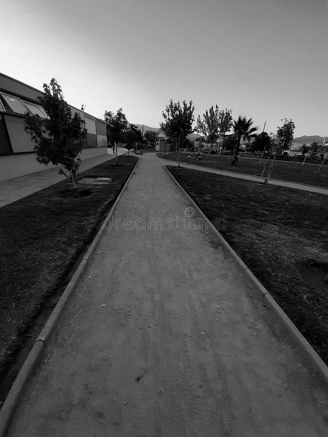 智利兰卡瓜卢尔德体育中心 免版税库存照片