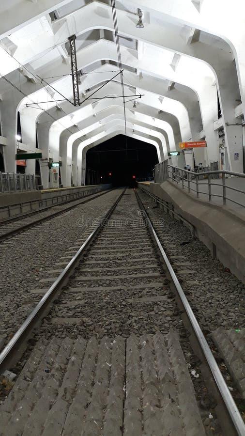 智利兰卡瓜火车站 库存照片